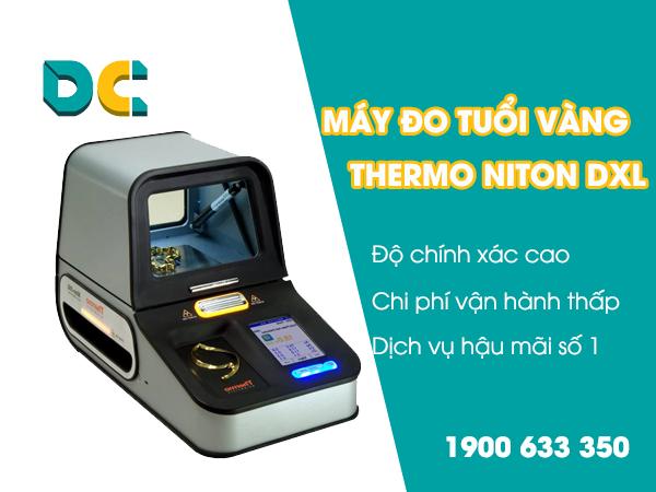 Lý do chủ tiệm vàng tin dùng máy đo tuổi vàng Thermo DXL